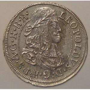 Austria, Léopold, 3 Kreuzer 1681, SUP, 1.60grs, KM# 1245