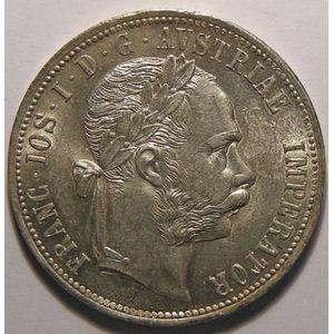 Autriche, Austria, 1 Florin 1888, SUP+/SPL, KM# 2222