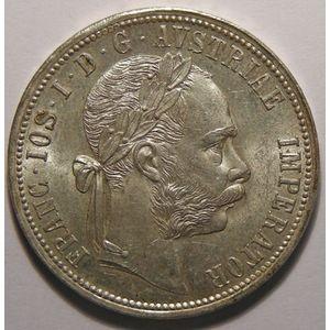 Autriche, Austria, 1 Florin 1889, SUP+/SPL, KM# 2222