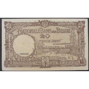 Belgique, 20 Francs 01.09.48, VF