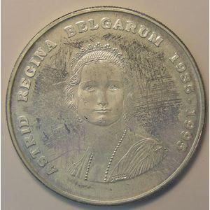 Belgium, 250 Francs 1995 Astrid Régina, KM# 199, SUP+/SPL