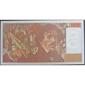 Billets français, Banque de France, 100 Francs Delacroix 1994