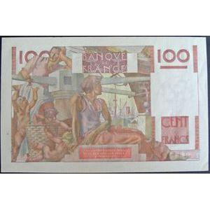 Billets français, Banque de France, 100 Francs Paysan 6-9-1951