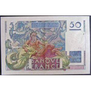 Billets français, Banque de France, 50 Francs Le Verrier 14-3-1946