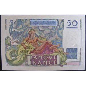 Billets français, Banque de France, 50 Francs Le Verrier 16-5-1946
