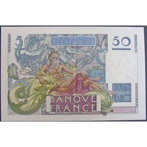 Billets français, Banque de France, 50 Francs Le Verrier 28-3-1946