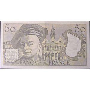 Billets français, Banque de France, 50 Francs Quentin De La Tour 1978, F: 67/3, 1 pli central peu marqué, SPL