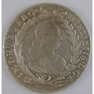 Bohemia, 20 Kreuzer 1764, SUP, KM# 800