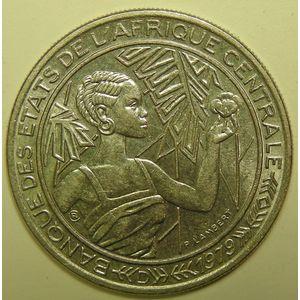 Central African States, Gabon, 500 Francs 1979 D, KM# 12