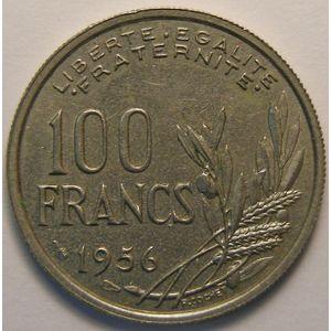 Cochet, 100 Francs 1956, TTB, Gadoury 897