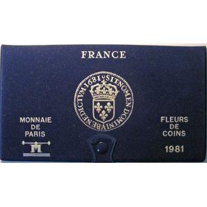 Coffret  FDC 1981, tranche B