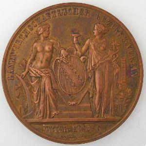 Comité régional agricole, Exposition du 20.23 Septembre 1877 à Brumath , SUP