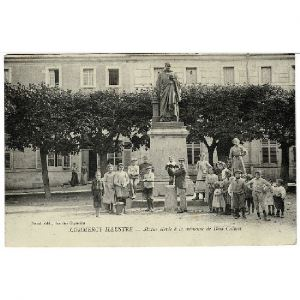 COMMERCY Illustrée - Statue élevée à la Mémoire de Dom Calmet