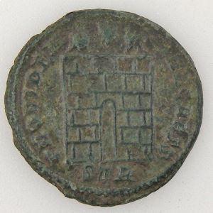 CONSTANCE II, CONSTANTIUS II, Nummus, PROVIDENTIAE CAESS, TTB