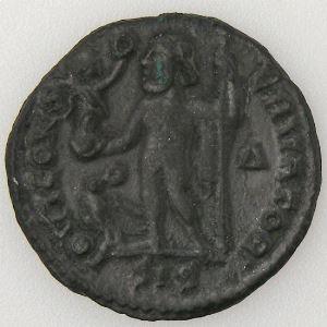 CONSTANTIN I, CONSTANTINUS I, Follis, IOVI CONSERVATORI, TTB