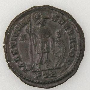 CONSTANTIN I, CONSTANTINUS I, Follis, MARTI CONSERVATORI, SUP