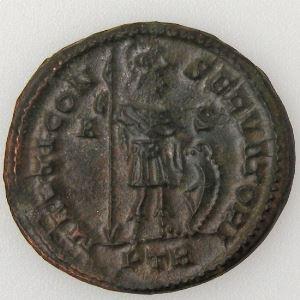 CONSTANTIN I, CONSTANTINUS I, Follis, MARTI CONSERVATORI, TTB+