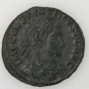 CONSTANTIN I, CONSTANTINUS I, Follis, PRINCIPI IVVENTVTIS, TTB