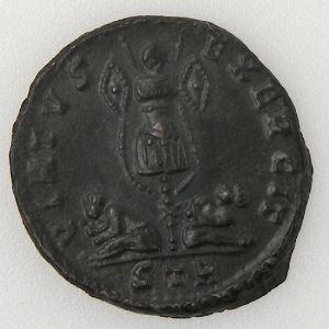 CONSTANTIN I, CONSTANTINUS I, Nummus, VIRTVS EXERCIT, SUP