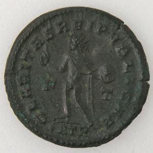 CONSTANTIN II, CONTANTINUS II, Follis, R/ CLARITAS REIPVBLICAE, SUP