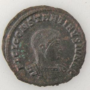 CONSTANTIN II, CONSTANTINUS II, Follis, CLARITAS REIPVBLICAE, SUP