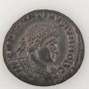 CONSTANTIN II, CONSTANTINUS II, Follis, GLORIA EXERCITVS, SUP