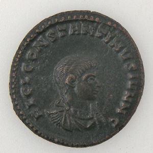 CONSTANTIN II, CONSTANTINUS II, Follis, PRINCIPI IVVENTVTIS, TTB+