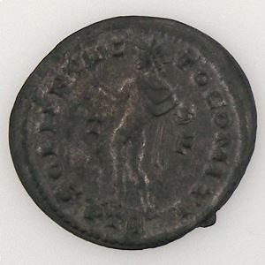 Constantinus I, Follis, R/ SOLI INVICTO COMITI, 4.55 Grs, SUP