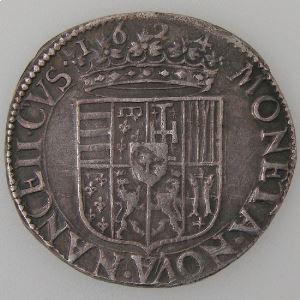 Duché de Lorraine, Charles IV et Nicole (1624-1625), Teston 1624