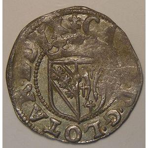 Duché de Lorraine, Charles III (1545-1608), sol, Flon P662 N°159 Var, TTB