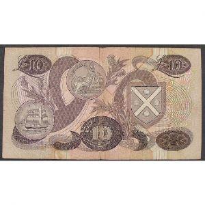 Ecosse, 10 Pounds 20.10.1986, VF