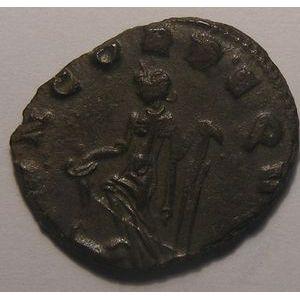 Empire romain, Auréolus, Antoninien, R/ CONCORD EQVITVM, 2.93 Grs, TTB/TTB+
