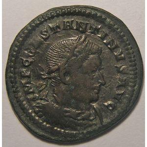 empire romain, Constantin I, Constantinus I, Follis de Trèves, R/ MARTI CONSERVATORI, 3.93 Grs, TTB+/SUP