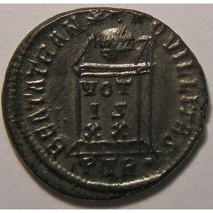 Empire romain, Constantin I, Nummus, R/ BEATA TRANQVILLITAS, 3.12 Grs, SUP