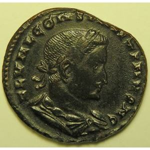 Empire romain, Constantinus I, Follis, R/ GENIO POP ROM, 7.06 Grs, TTB