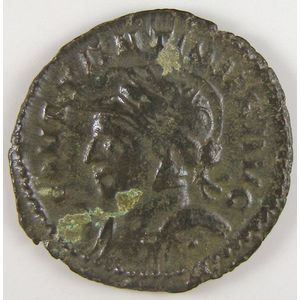 Empire romain, Constantinus I, Follis, R/ SOLI INVICTO COMITI, 3.22 Grs, TTB