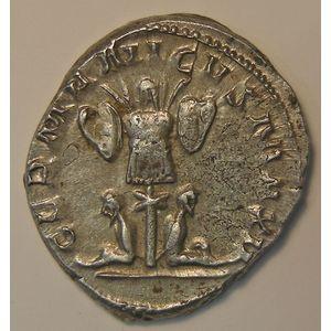 Empire romain, Gallienus, Antoninien, R/ GERMANICVS MAX V, 4.73 Grs, TTB