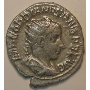 Empire romain, Gordianus III, Antoninien, R/ AEQVITAS AVG, 4.43 Grs, TTB