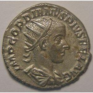 Empire romain, Gordianus III, Antoninien, R/ P M TR P IIII COS II P P, 3.32 Grs, TTB