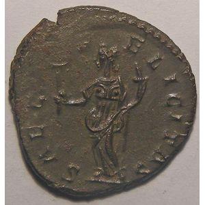 Empire romain, Marius, Antoninien, R/ SAEC FELICITAS, 2.82 Grs, TTB+