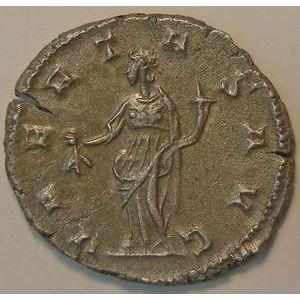 Empire romain, Postumus, Antoninien, R/ VBERITAS AVG, 4.12 Grs, TTB/TTB+