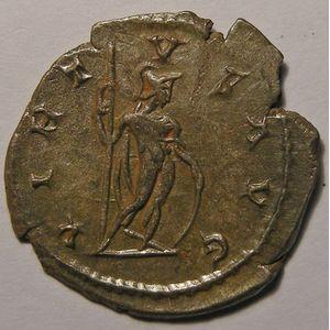 Empire romain, Postumus, Antoninien, R/ VIRTVS AVG, 3.39 Grs, TTB/SUP
