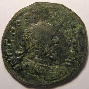 Empire romain, Postumus, Sesterce, R/ P M TR P COS II P P SC, 11.27 Grs, TB+
