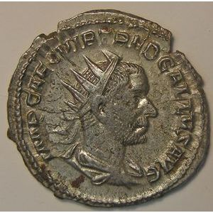 Empire romain, Trébonien Galle, Antoninien, R/ PIETAS AVGG, 3.57 Grs, TTB