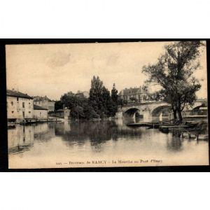 Environs de NANCY - La Meurthe au Pont d'Essey