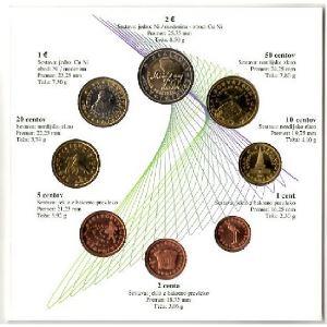 Euro, Autriche, coffret Brillant Universel 2007