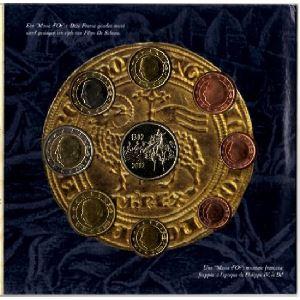Euro, Belgique, coffret Brillant Universel 2002