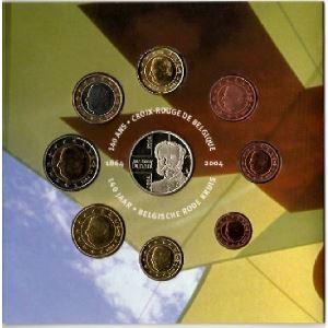 Euro, Belgique, coffret Brillant Universel 2004