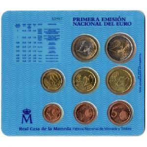 Euro, Espagne, coffret Brillant Universel 2001