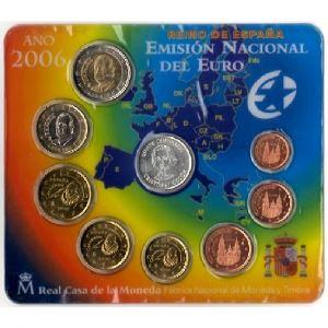 Euro, Espagne, coffret Brillant Universel 2006